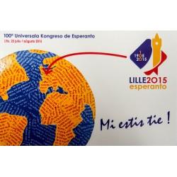 Carte postale Monde «Mi...