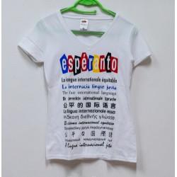 T-shirt MISS (XS) Espéranto...