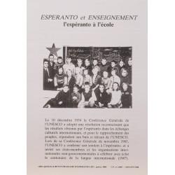 Espéranto et enseignement
