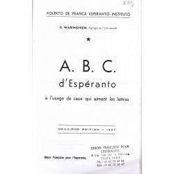ABC d'espéranto (ancienne...
