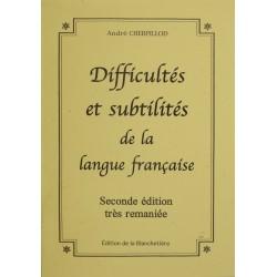 Difficultés et subtilités...