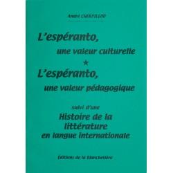L'Espéranto, une valeur...