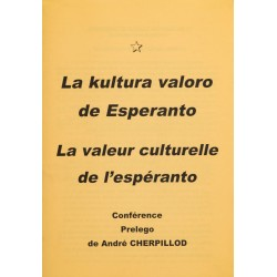 La kultura valoro de Esperanto
