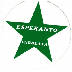 Autocollant 'Esperanto...