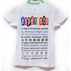 T-shirt MISS (S) Espéranto...
